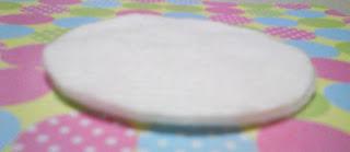 Disco de algodão Bellacotton York Panvel Dauf Dia espessura