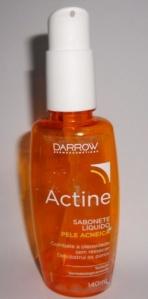 Sabonete anti-acne actine