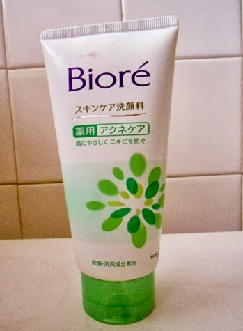 espuma facial bioré acne care