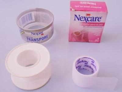 Transpore e Fita adesiva protetora para pés Nexcare